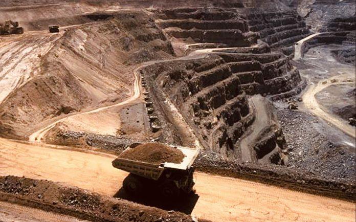 Iron ore mine in Odisha